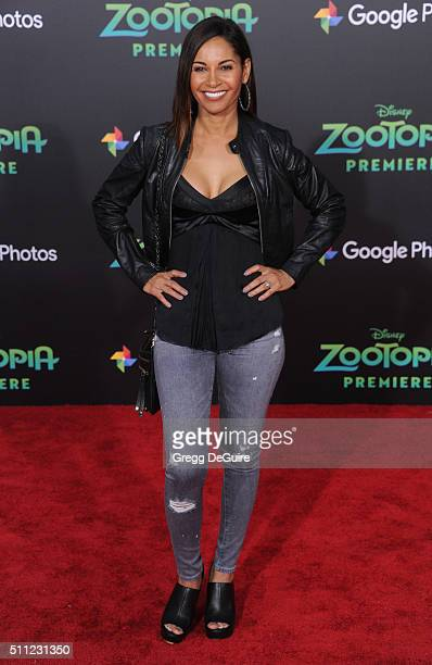 Actress Salli RichardsonWhitfield arrives at the premiere of Walt Disney Animation Studios' Zootopia at the El Capitan Theatre on February 17 2016 in...
