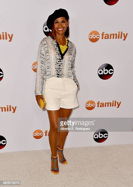 Actress Salli RichardsonWhitfield attends Disney ABC Television Group's 2015 TCA Summer Press Tour at the Beverly Hilton Hotel on August 4 2015 in...