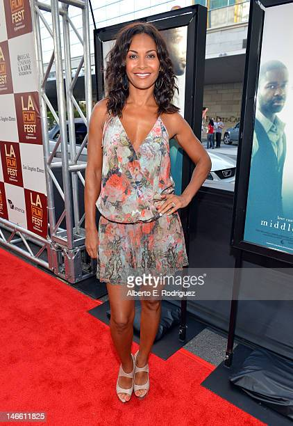 Actress Salli RichardsonWhitfield attends the Middle Of Nowhere premiere during the 2012 Los Angeles Film Festival at Regal Cinemas LA Live on June...
