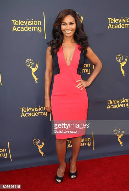 Actress Salli RichardsonWhitfield attends the Words Music event hosted by the Television Academy at Wolf Theatre on June 29 2017 in North Hollywood...