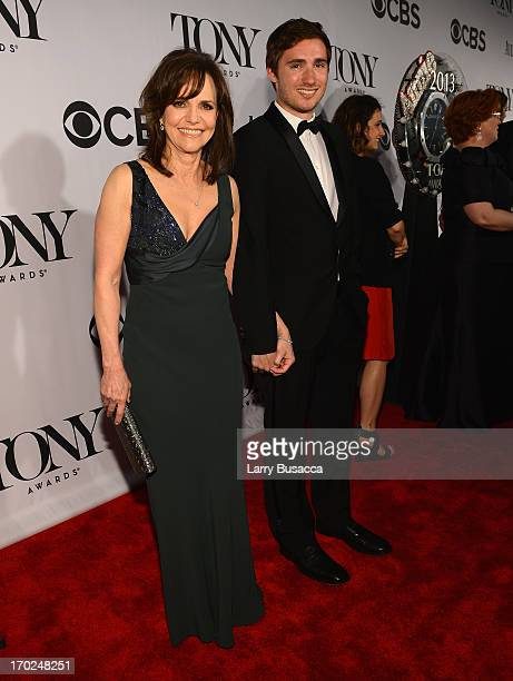 Actress Sally Field and Sam Greisman attend The 67th Annual Tony Awards at Radio City Music Hall on June 9 2013 in New York City