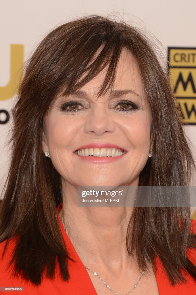 Actress Sally Field arrives at the 18th Annual Critics' Choice Movie Awards held at Barker Hangar on January 10, 2013 in Santa Monica, California.