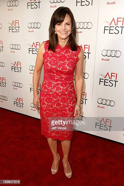 Actress Sally Field arrives at the 'Lincoln' closing night gala premiere during AFI Fest 2012 at Grauman's Chinese Theatre on November 8 2012 in...