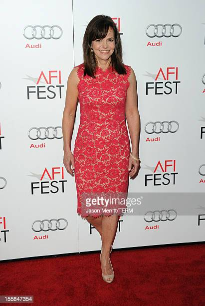Actress Sally Field arrives at the Lincoln premiere during AFI Fest 2012 presented by Audi at Grauman's Chinese Theatre on November 8 2012 in...