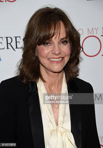 Actress Sally Field arrives at the New York premiere of 'Hello My Name Is Doris' hosted by Roadside Attractions with The Cinema Society Belvedere...