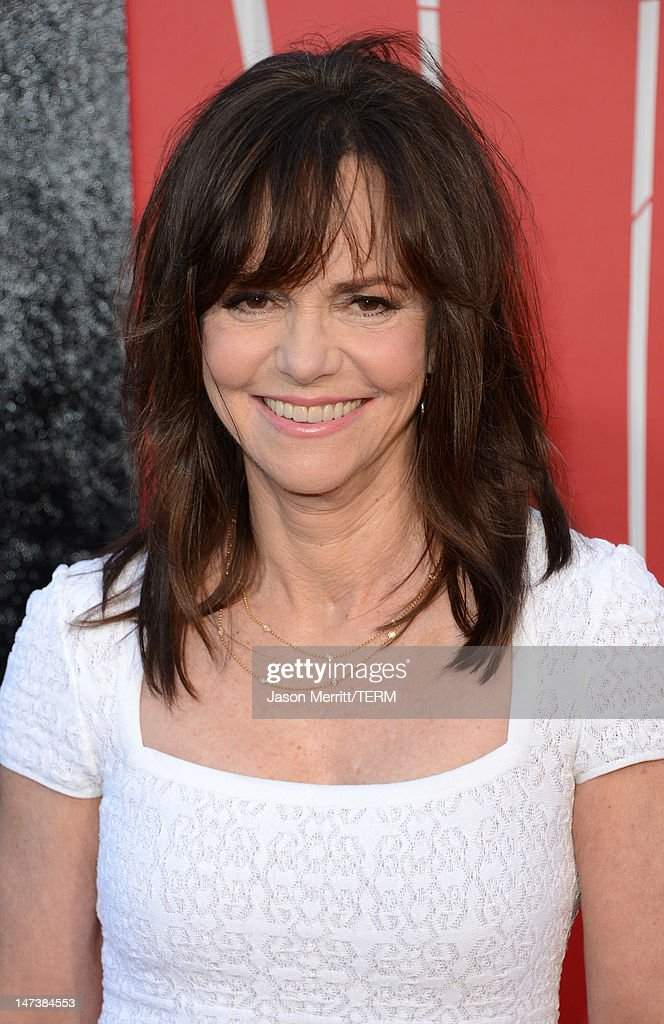 Actress Sally Field arrives at the premiere of Columbia Pictures' 'The Amazing Spider-Man' at the Regency Village Theatre on June 28, 2012 in Westwood, California.