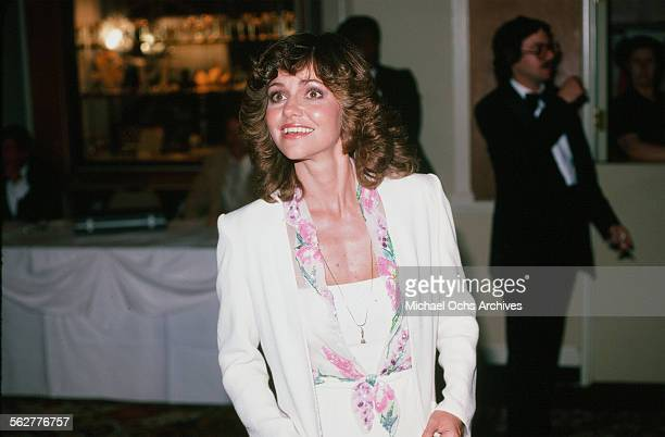 Actress Sally Field arrives to the 52nd Academy Awards at Dorothy Chandler Pavilion in Los AngelesCalifornia