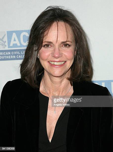 Actress Sally Field attends ACLU of Southern California's Bill of Rights dinner at The Beverly Wilshire Hotel on December 7 2009 in Los Angeles...