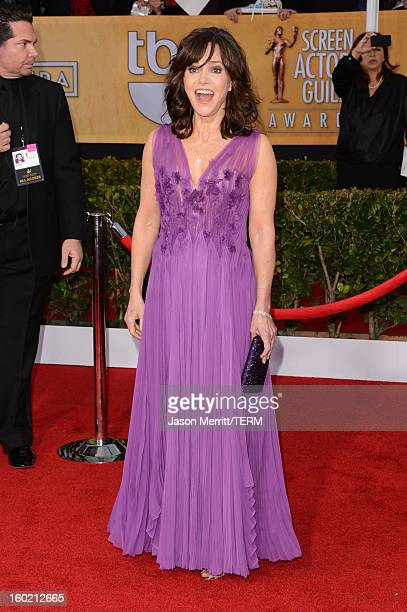 Actress Sally Field attends the 19th Annual Screen Actors Guild Awards at The Shrine Auditorium on January 27 2013 in Los Angeles California...