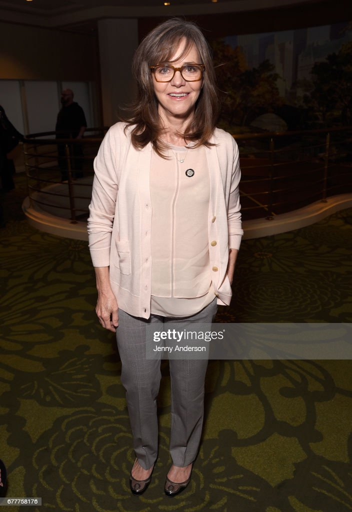 Actress Sally Field attends the 2017 Tony Awards Meet The Nominees Press Junket at the Sofitel New York on May 3, 2017 in New York City.