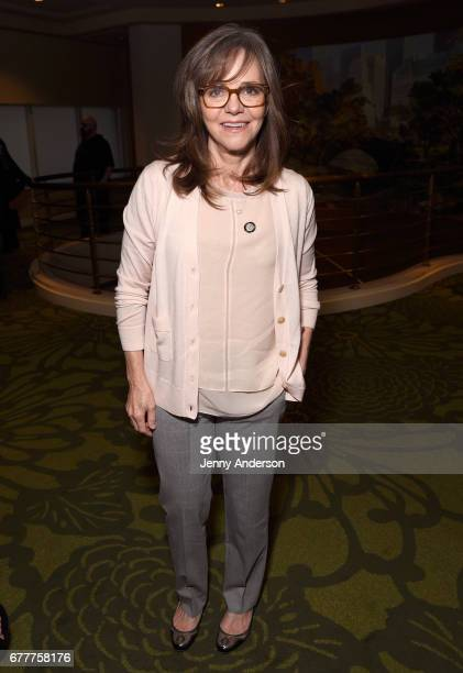 Actress Sally Field attends the 2017 Tony Awards Meet The Nominees Press Junket at the Sofitel New York on May 3 2017 in New York City