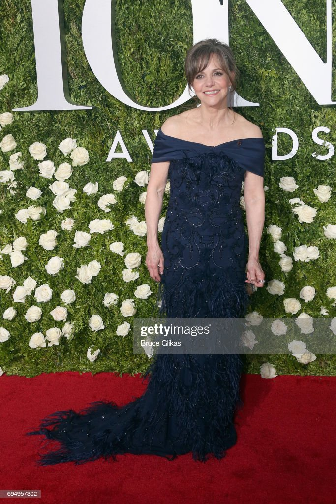 Actress Sally Field attends the 71st Annual Tony Awards at Radio City Music Hall on June 11, 2017 in New York City.