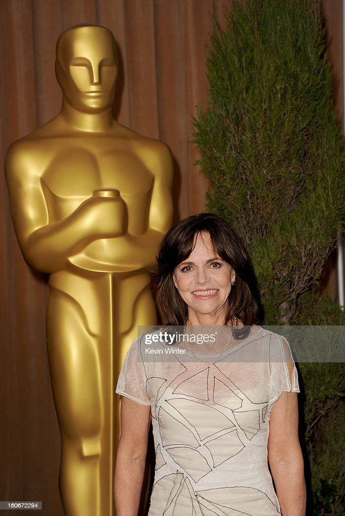 Actress Sally Field attends the 85th Academy Awards Nominations Luncheon at The Beverly Hilton Hotel on February 4, 2013 in Beverly Hills, California.
