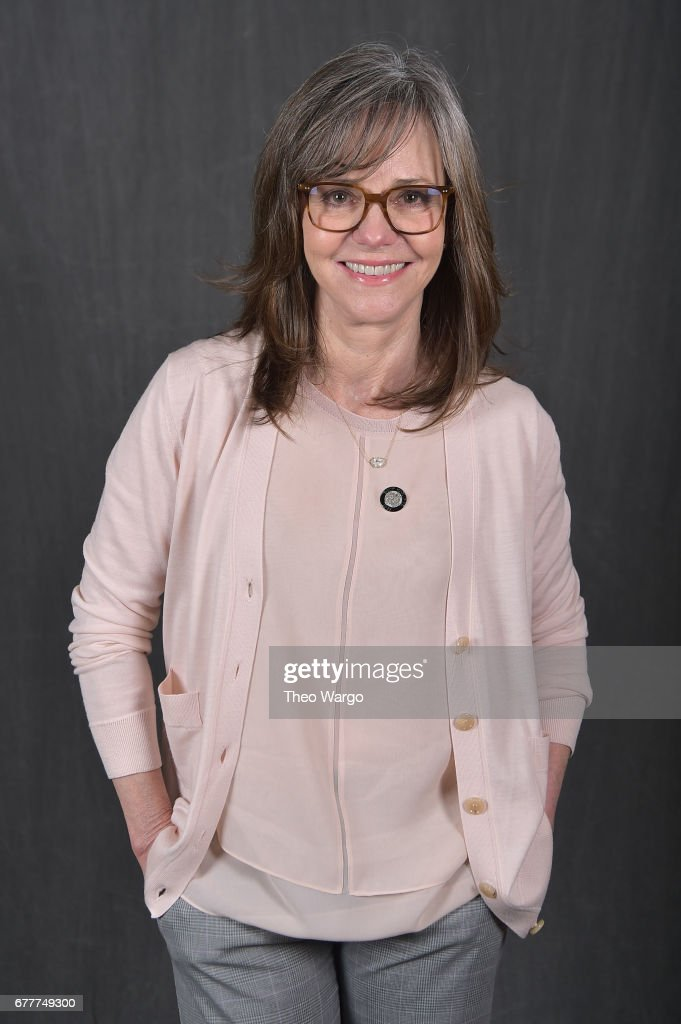Actress Sally Field poses at the 2017 Tony Awards Meet The Nominees press junket portrait studio at Sofitel New York on May 3, 2017 in New York City.