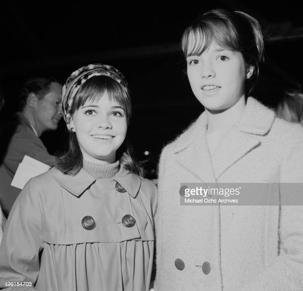 Actress Sally Field with half sister Princess Field attend a party in Los Angeles, California.