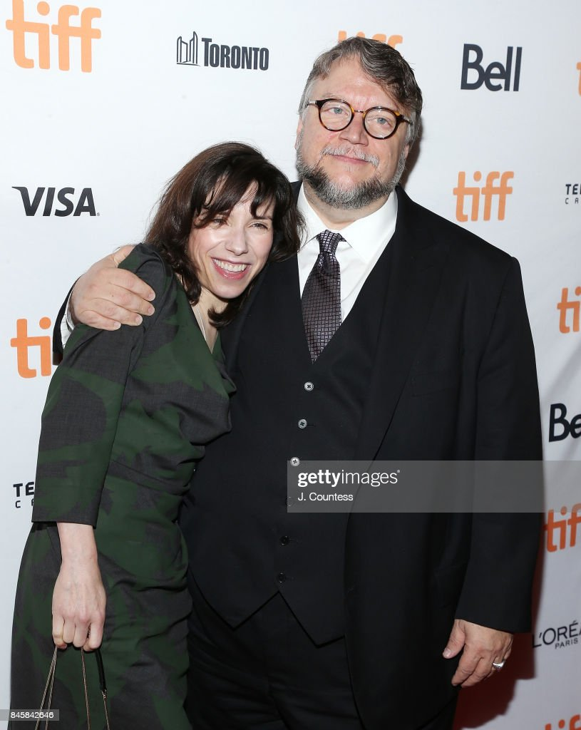 Actress Sally Hawkins and director Guillermo del Toro attend the premiere of 'The Shape Of Water' during the 2017 Toronto International Film Festival at The Elgin on September 11, 2017 in Toronto, Canada.