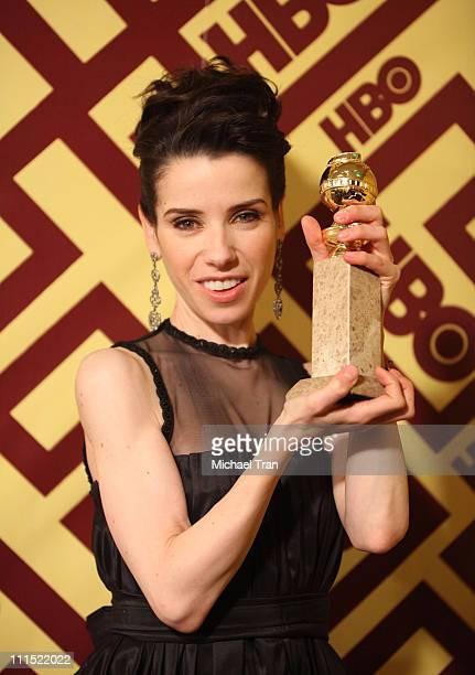 Actress Sally Hawkins arrives at the official HBO Golden Globe Awards afterparty held at Circa 55 Restaurant inside the Beverly Hilton on January 11...
