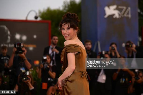 Actress Sally Hawkins arrives at the premiere of the movie 'The Shape of Water' presented in competition 'Venezia 74' at the 74th Venice Film...