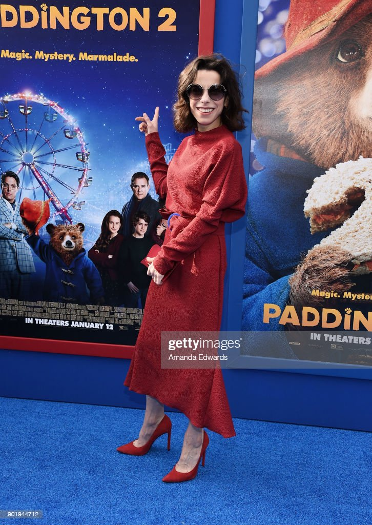 Actress Sally Hawkins arrives at the premiere of Warner Bros. Pictures' 'Paddington 2' at the Regency Village Theatre on January 6, 2018 in Westwood, California.