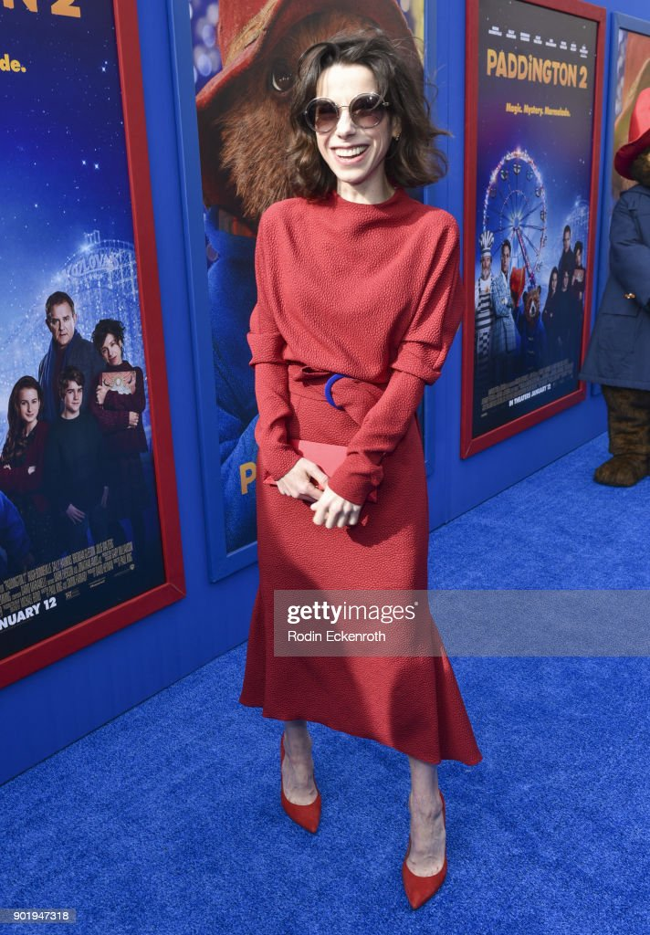 Actress Sally Hawkins arrives at the premiere of Warner Bros. Pictures' 'Paddington 2' at Regency Village Theatre on January 6, 2018 in Westwood, California.