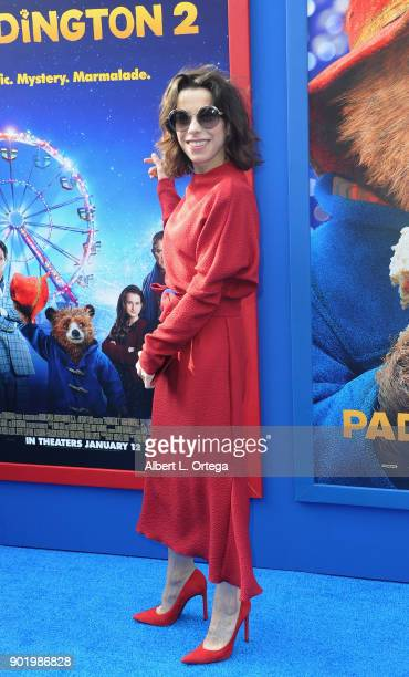 Actress Sally Hawkins arrives for the premiere of Warner Bros Pictures' 'Paddington 2' held at Regency Village Theatre on January 6 2018 in Westwood...