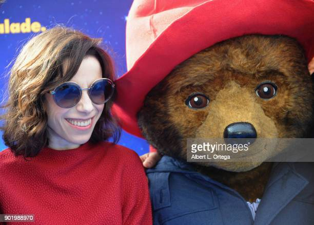 Actress Sally Hawkins arrives for the premiere of Warner Bros Pictures' Paddington 2 held at Regency Village Theatre on January 6 2018 in Westwood...