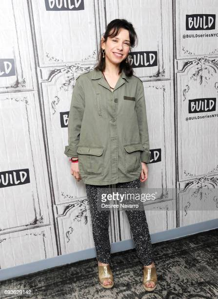Actress Sally Hawkins attends Build to discuss 'Maudie' at Build Studio on June 7 2017 in New York City