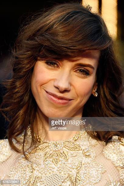 Actress Sally Hawkins attends the 86th Oscars held at Hollywood Highland Center on March 2 2014 in Hollywood California