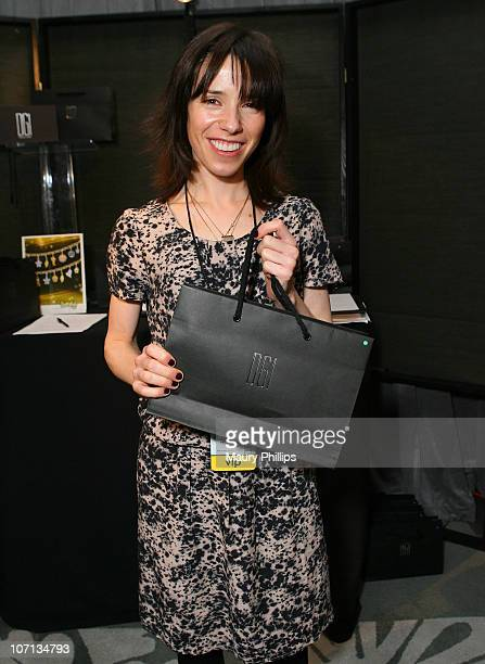 Actress Sally Hawkins attends the Access Hollywood 'Stuff You Must' Lounge produced by On 3 Productions held at Sofitel LA on January 9 2009 in Los...