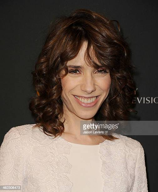 Actress Sally Hawkins attends the BAFTA LA 2014 awards season tea party at Four Seasons Hotel Los Angeles at Beverly Hills on January 11 2014 in...