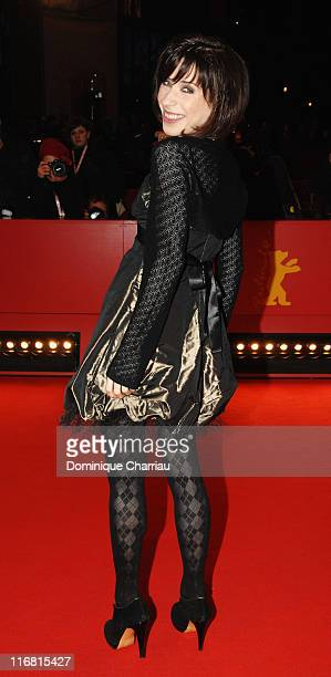 Actress Sally Hawkins attends the 'HappyGoLucky' Premiere as part of the 58th Berlinale Film Festival at the Berlinale Palast on February 12 2008 in...