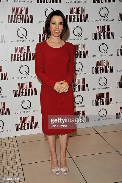 Actress Sally Hawkins attends the Made in Dagenham world premiere at the Odeon Leicester Square on September 20 2010 in London England