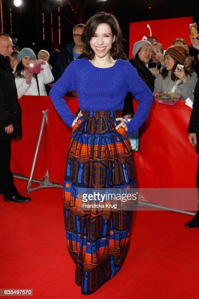 Actress Sally Hawkins attends the 'Maudie' premiere during the 67th Berlinale International Film Festival Berlin at FriedrichstadtPalast on February...