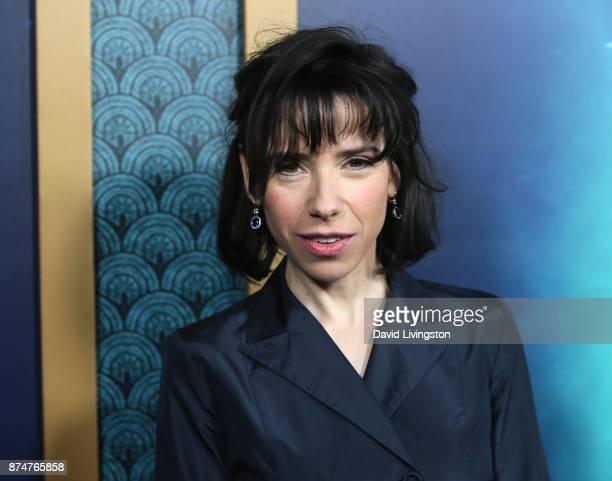 Actress Sally Hawkins attends the premiere of Fox Searchlight Pictures' The Shape of Water at the Academy of Motion Picture Arts and Sciences on...