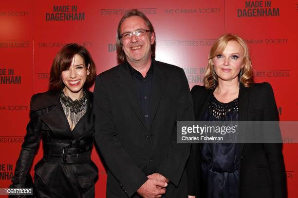 Actress Sally Hawkins director Nigel Cole and actress Miranda Richardson attend The Cinema Society Sony Pictures Classics screening of 'Made In...