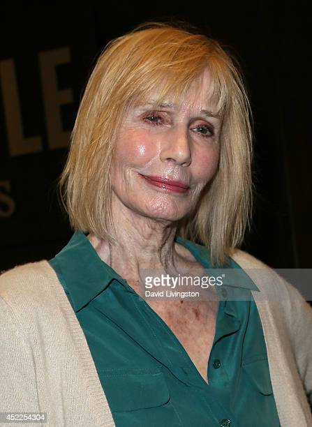 Actress Sally Kellerman attends a signing by Lee Grant for her new book 'I Said Yes to Everything' at Barnes Noble bookstore at The Grove on July 16...