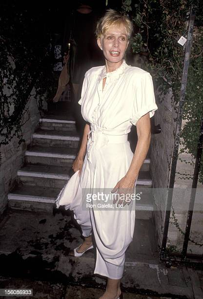 Actress Sally Kellerman attends Andrea Marcovicci Opening Night Performance on September 4 1990 at Westwood Playhouse in Westwood California