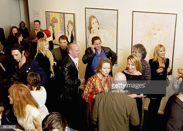 Actress Sally Kellerman attends Previous Images a multimedia exhibition of Sandra Knight by actress/writer/artist Sandra Stephenson at the Edgemar...