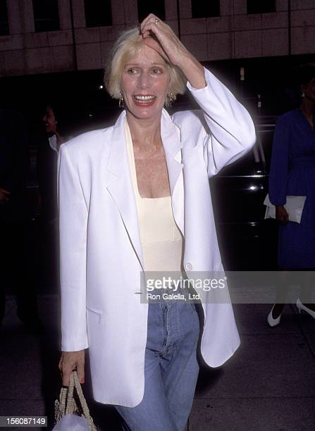 Actress Sally Kellerman attends the 'A League of Their Own' Beverly Hills Premiere on June 22 1992 at Academy Theatre in Beverly Hills California