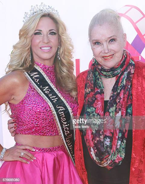 Actress Sally Kirkland and Ms North America Universe 2016 Carla Gonzalez attend the Love International Film Festival closing ceremony at The Wilshire...