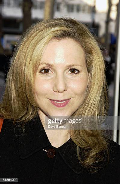 Actress Sally Phillips at the UK Premiere of 'Tooth' at the Odeon cinema Leicester Square on 8th February 2004 in London