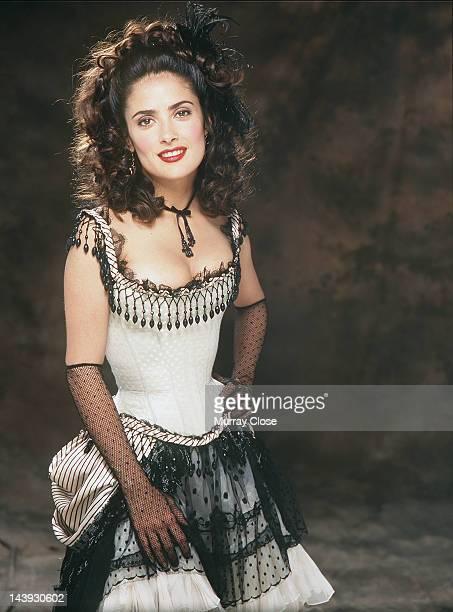 Actress Salma Hayek as Rita Escobar in the film 'Wild Wild West' 1998