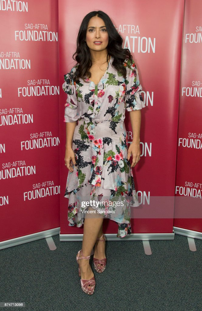 SAG-AFTRA Foundation Conversations  With Salma Hayek