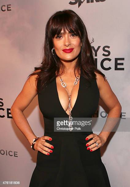 Actress Salma Hayek attends Spike TV's Guys Choice 2015 at Sony Pictures Studios on June 6 2015 in Culver City California