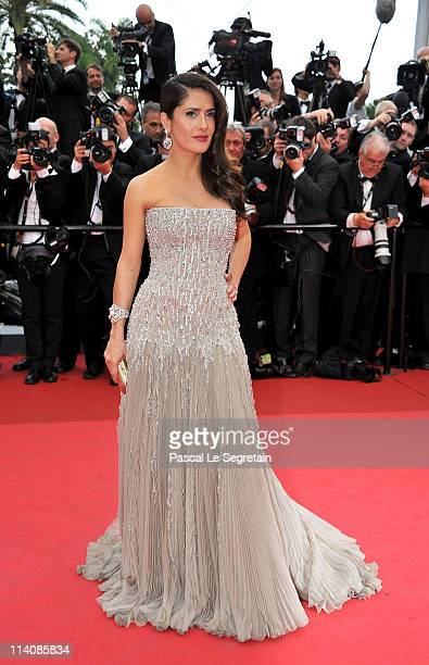 Actress Salma Hayek attends the Opening Ceremony at the Palais des Festivals during the 64th Cannes Film Festival on May 11, 2011 in Cannes, France.