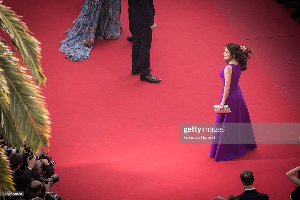 Actress Salma Hayek attends the Premiere of 'Rocco And His Brothers' during the 68th annual Cannes Film Festival on May 17, 2015 in Cannes, France.