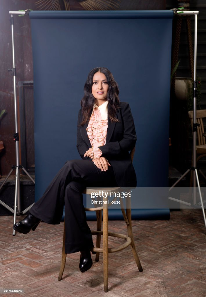 Actress Salma Hayek is photographed for Los Angeles Times on November 2, 2017 in Los Angeles, California. PUBLISHED IMAGE.