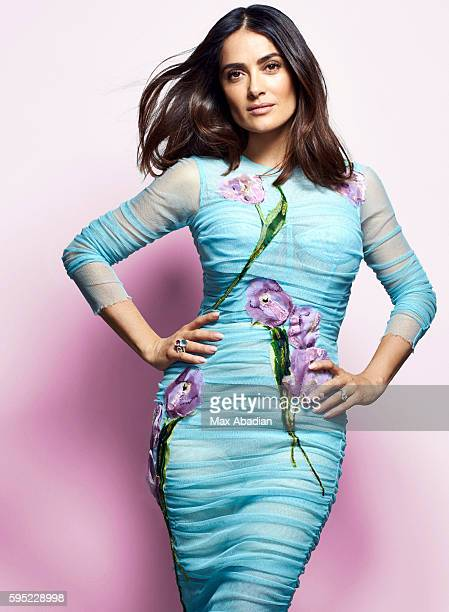 Actress Salma Hayek is photographed for Red magazine on March 15 2016 in London England PUBLISHED IMAGE