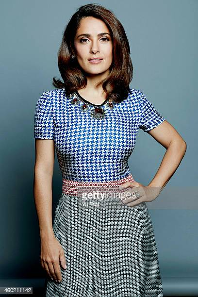 Actress Salma Hayek is photographed for Variety on September 6 2014 in Toronto Ontario
