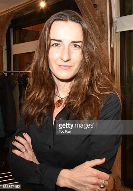 Actress Salome Stevenin attends 'Sylvie A Saint Tropez' Sylvie Bourgeois Harel Book Signing at Librairie Des Femmes on January 16 2017 in Paris France